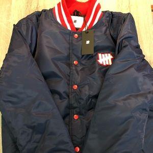 New Mens Undefeated UNDFTD Stadium Jacket